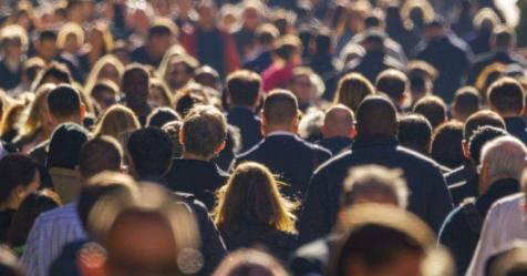 População residente cresceu menos em 2020 do que no ano anterior