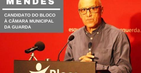 Autárquicas: Jorge Mendes (BE) defende requalificação do recinto das feiras e mercados da Guarda