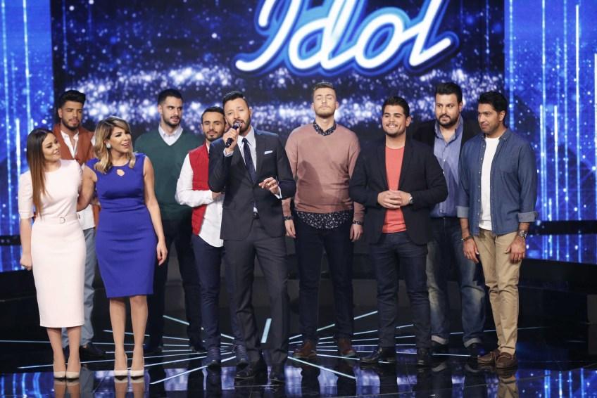 MBC1 & MBC MASR Arab Idol S4 - Live 10- 9 Finalists