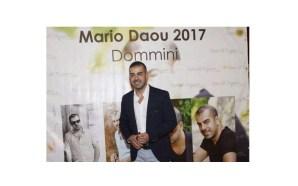 ماريو ضو يضمّ اهل الصحافة في اطلاق اغنيته الجديدة ……
