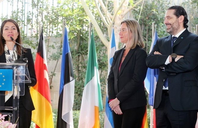 EU affirms commitment to Lebanon's stability, partnership