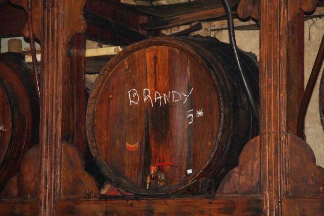 O Brettos in Athens, Home Made Brandy