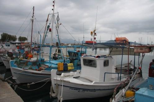Fishing Boats, Aegina, Greece
