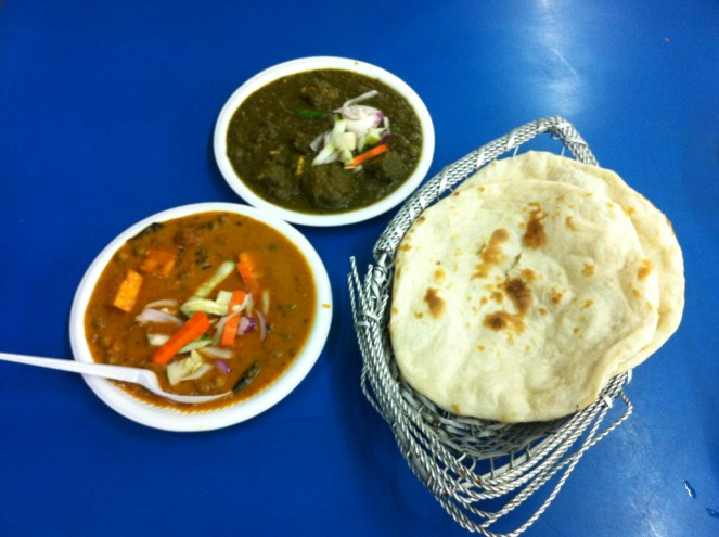 other meals I enjoyed there - the palak paneer is especially good