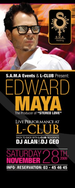 Edward Maya – Live in Beirut