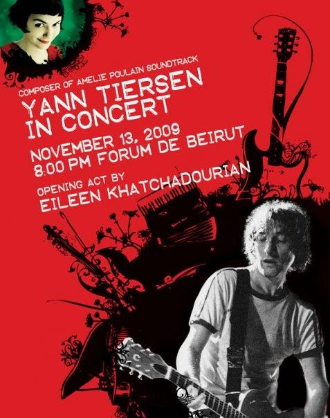 Yann Tiersen LIVE ON STAGE, IN BEIRUT