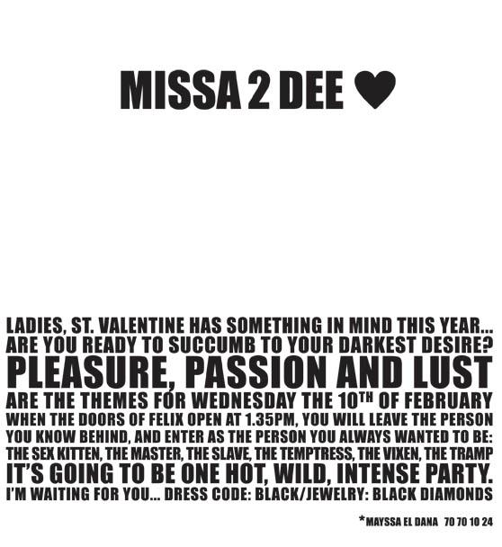 Missa 2 Dee