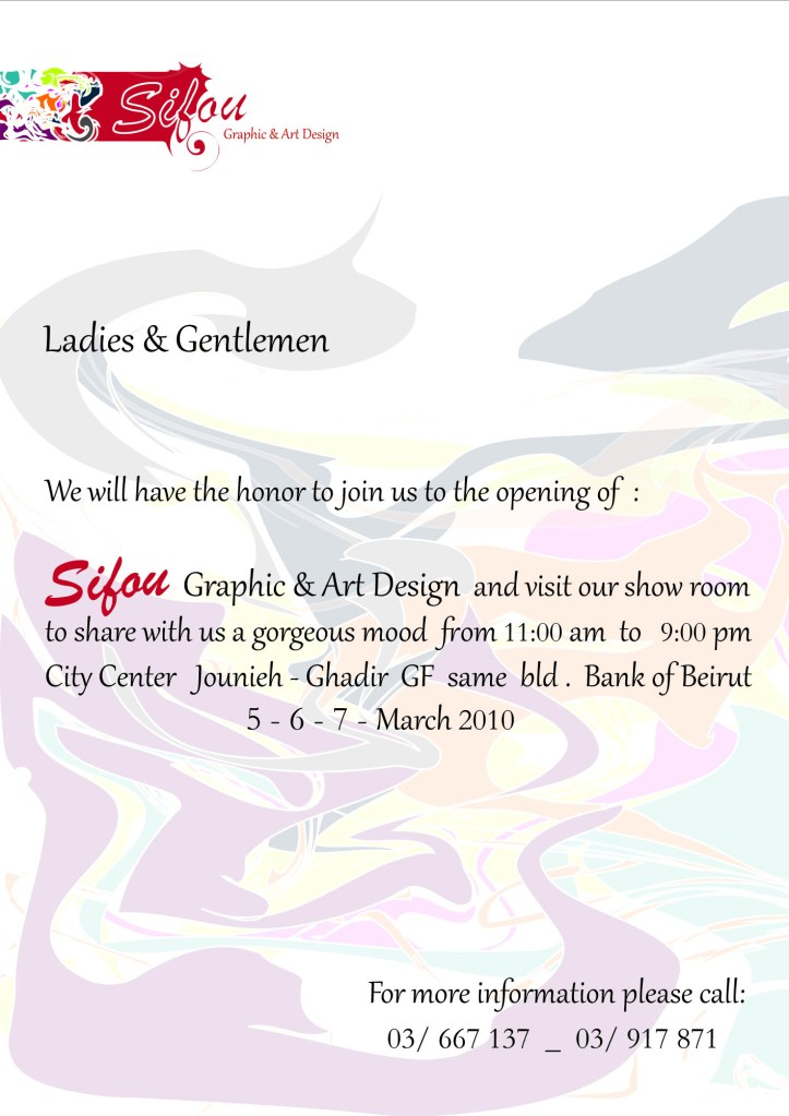 Sifou Graphic and Art Design