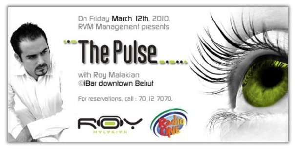 Roy Malakian at The Pulse