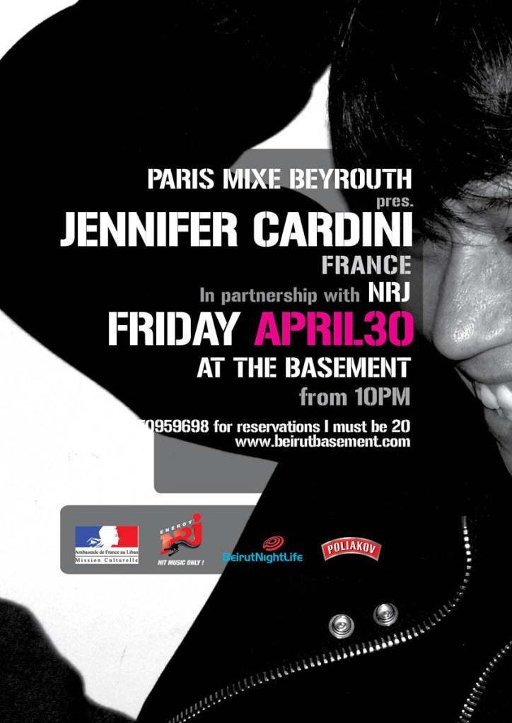 Jennifer Cardini at the Basement