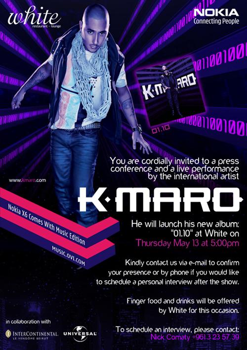 K.Maro on May 13th at White
