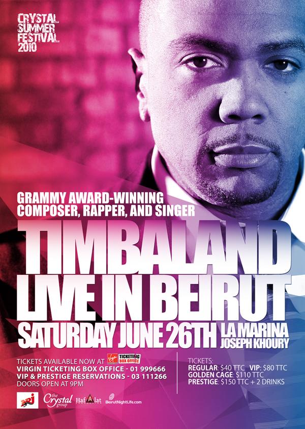 Timbaland in Lebanon