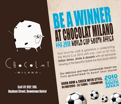 Chocolat Milano WC2010