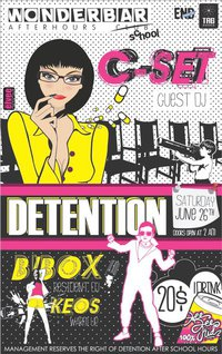 Detention ft. Guest C-SET (Ireland)