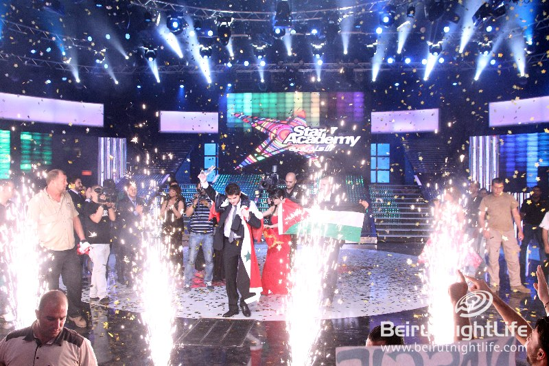 "Syrian Nassif Al Zaytoun crowned ""Star Academy  7"" winner at the Final Prime- Premiere Photos"