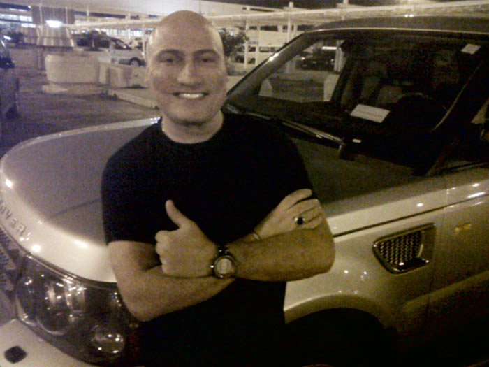 The Legend, Danny Tenaglia has arrived to Beirut!!