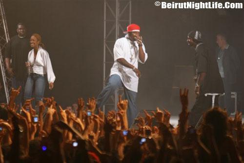 50 Cent Live in Lebanon