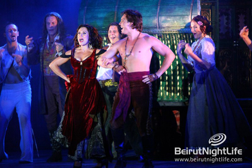 Beiteddine Festival 2010: ZORRO- le Musical