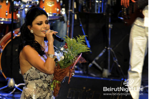 Batroun International Festival 2010: Haifa Wehbe and Bassem Feghali