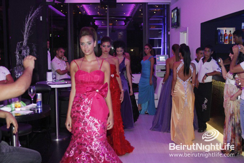 Spoiled Fashion Show at Axis Lounge Bar