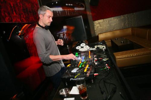 DJ T at the Basemant