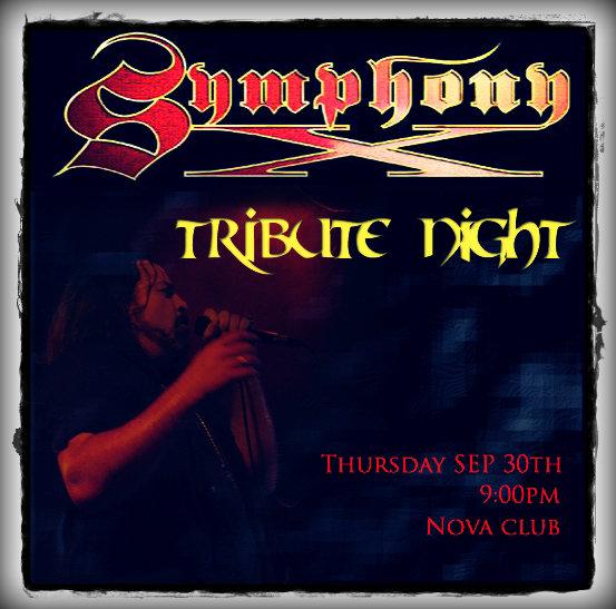 Symphony X – Tribute Night