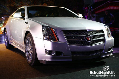 2011 Cadillac CTS Coupe & CTS-V Coupe makes a spectacular entrance