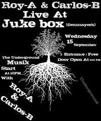 Roy-A & Carlos-B at Juke Box Gemmayze