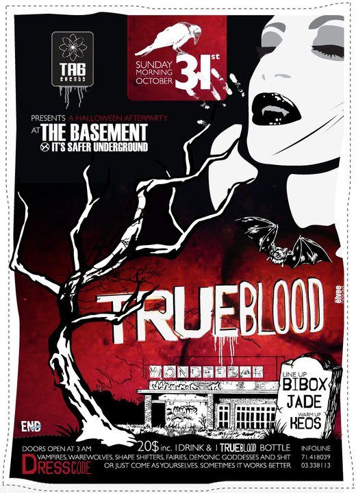 TRUE BLOOD – HALLOWEEN AFTER PARTY