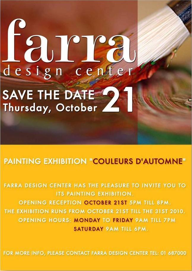 Painting Exhibition at Farra Design Center