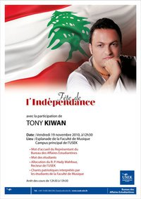 Independence Day At Usek With Tony Kiwan