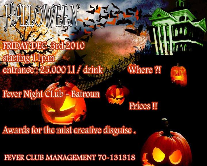 Feverish Halloween Night At Fever