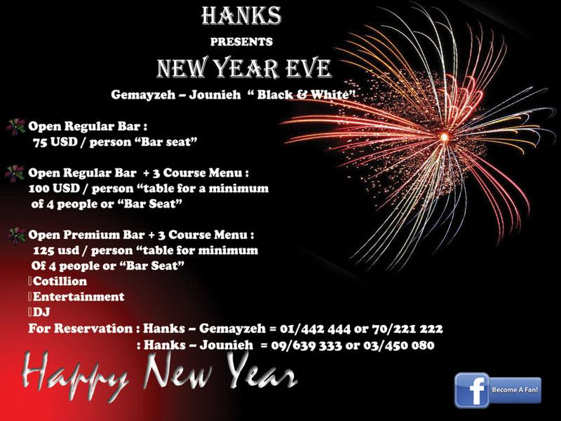New Year's Eve At Hanks