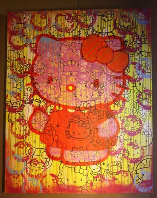 Christmas Gift: Hello Kitty Art Work for $1.25million