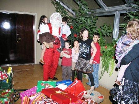 Santa's Tour Around Town Visiting You At Your Doorstep