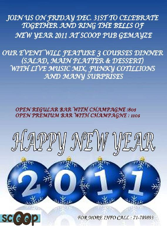 New Year's Eve At Scoop