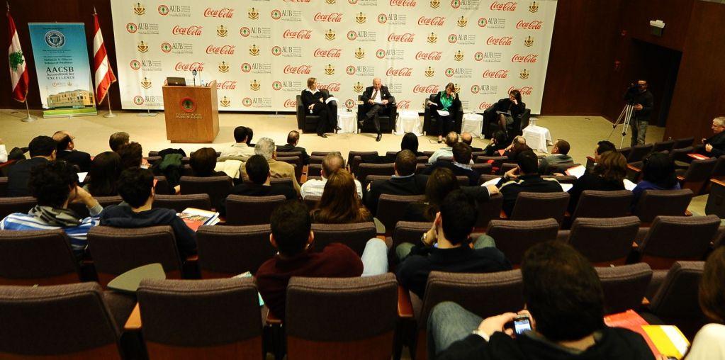 AUB and Coca-Cola – Business Partnerships for Developmen
