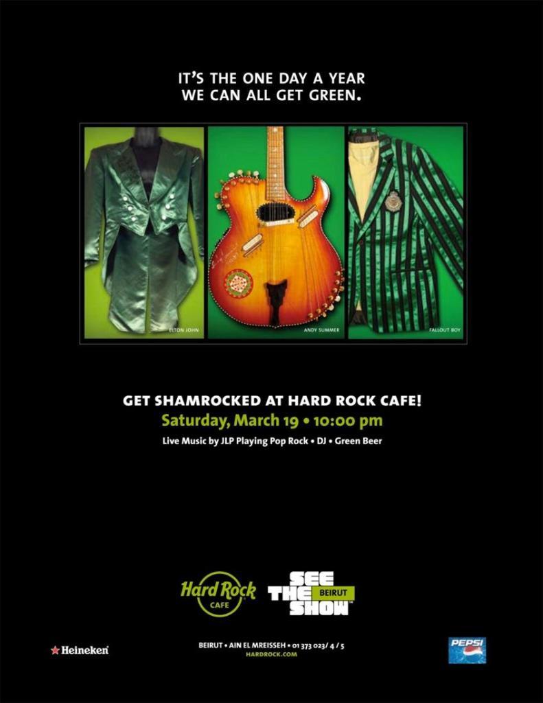 Saint Patrick's Day At Hard Rock Cafe