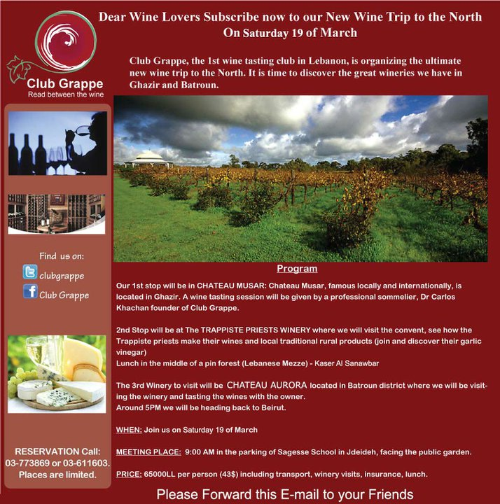 A Wine Trip To The North
