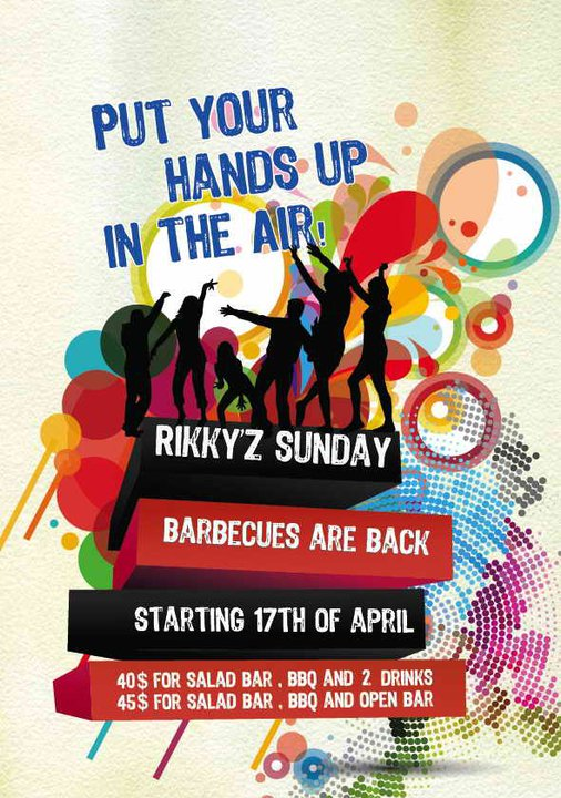 Put your Hands Up In The Air At Rikky'z