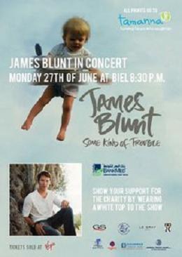 James Blunt At Biel Beirut