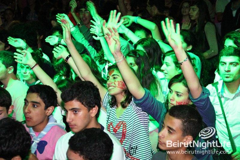 Meen Rock Concert at Champville