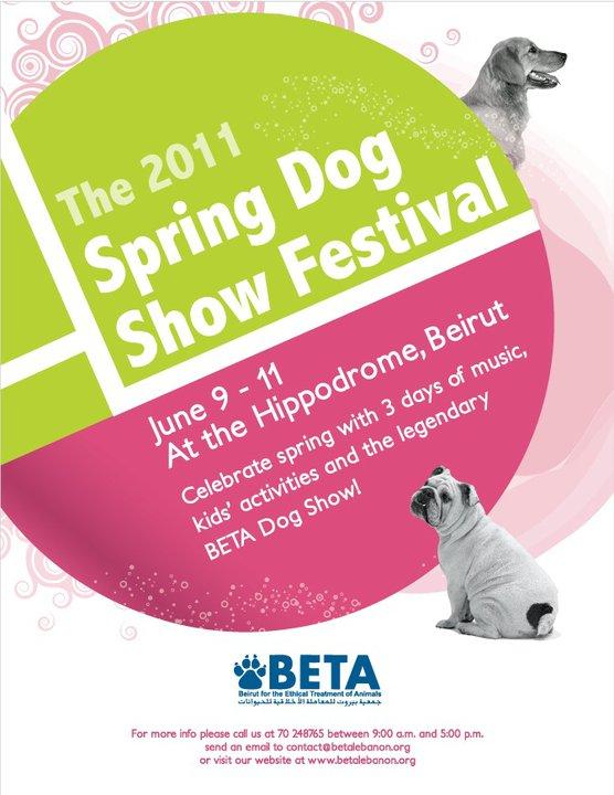 Spring Dog Show Festival 2011