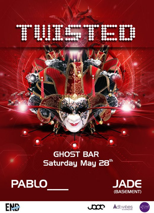 twisted at ghost bar bnl