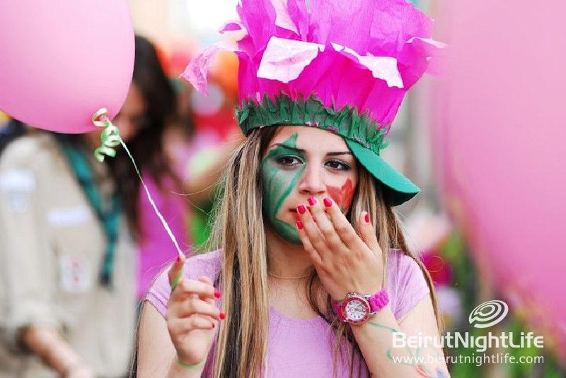 Spring Carnaval in Zgharta – North Lebanon