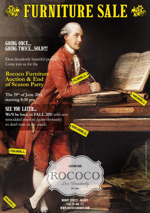 The Rococo Furniture Auction