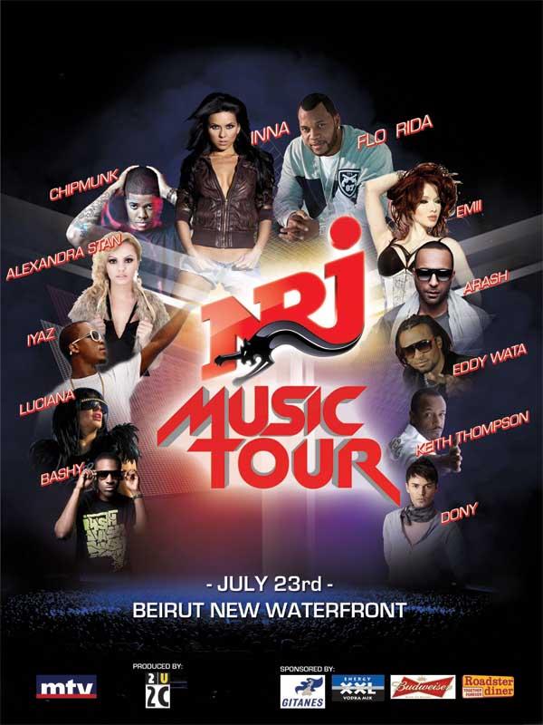 Nrj Music Tour 2011
