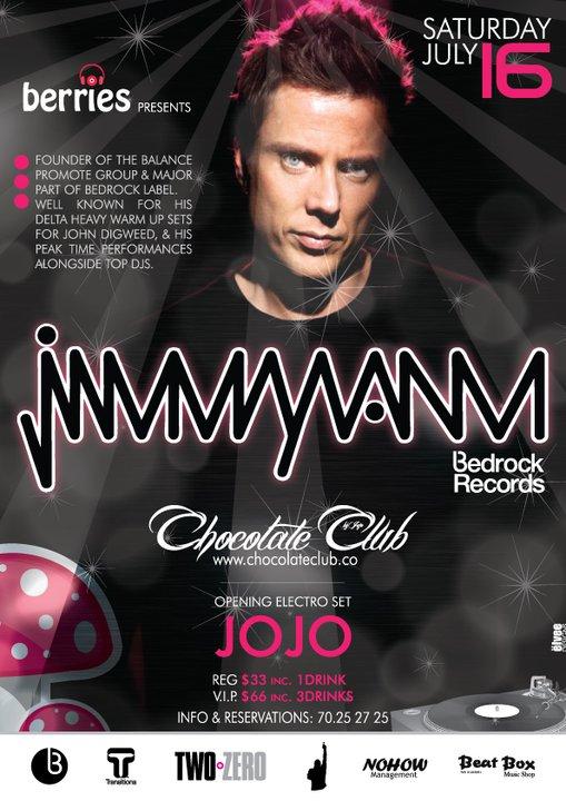 Jimmy Van M At Chocolate Club