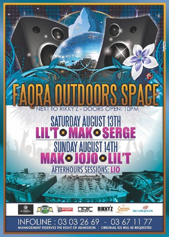 Faqra Outdoors Space At Rikky'z