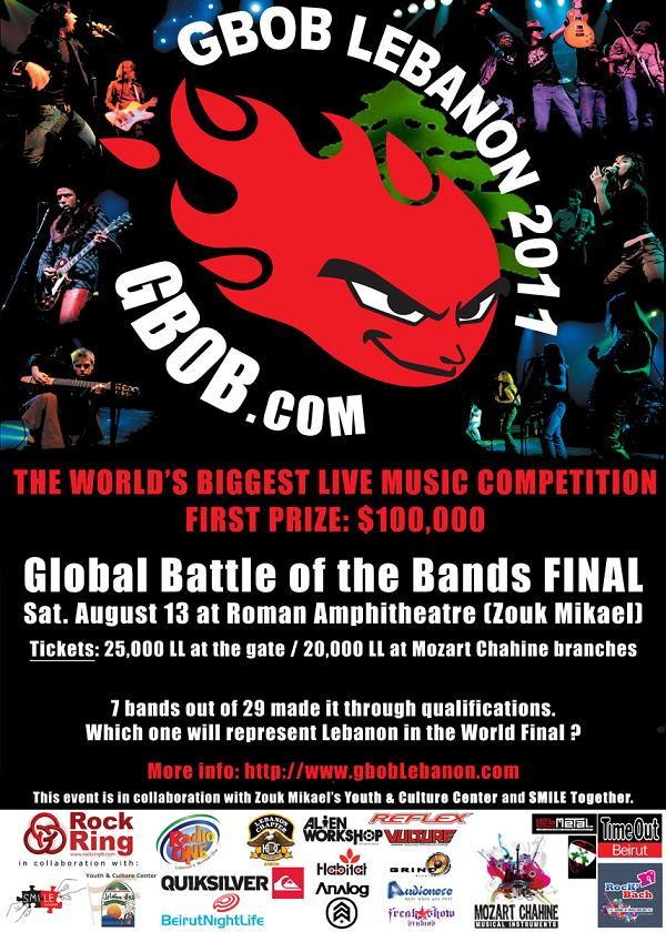 National Final Global Of The Bands Lebanon